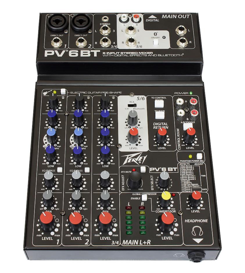 Peavey PV-6 BT Mixer