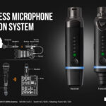 NUX B-3 trådløst mikrofonsystem